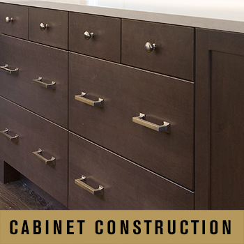 cabinet construction