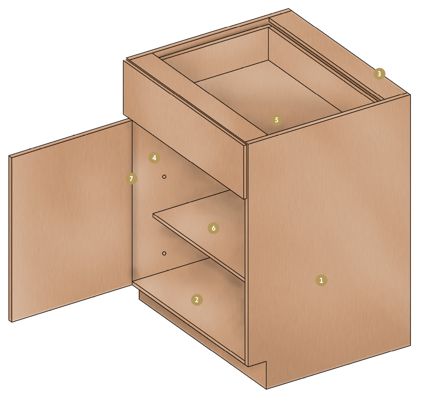 ... Standard With Double Wall Steel Drawer Box Option And Wood Dovetail  Drawer Box Option