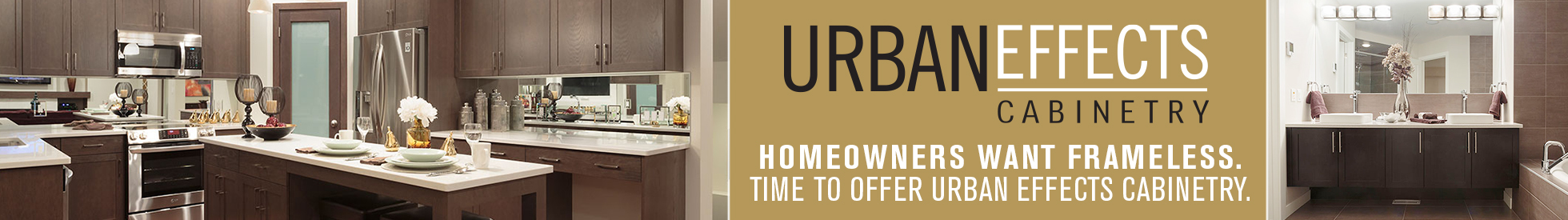 become an urban effects cabinetry dealer